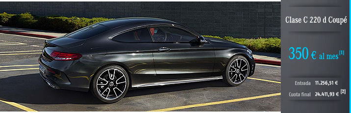 Oferta Mercedes Clase C Coupé con Mercedes-Benz Alternative